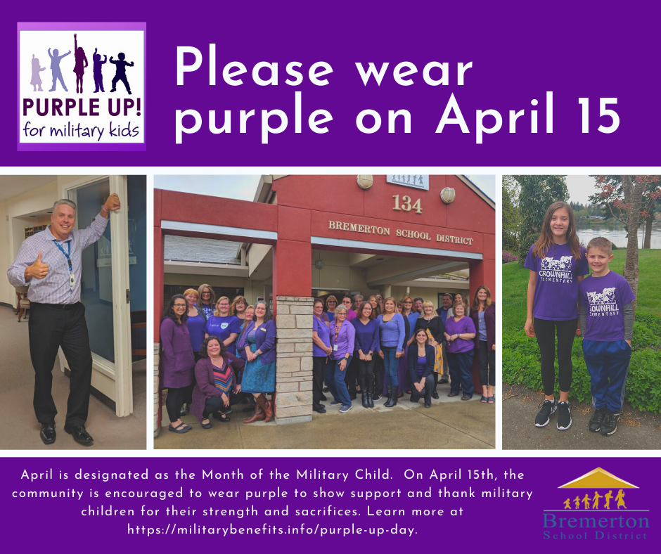 Purple Up! Day